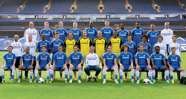 Chelsea FC players pictures 2013/14