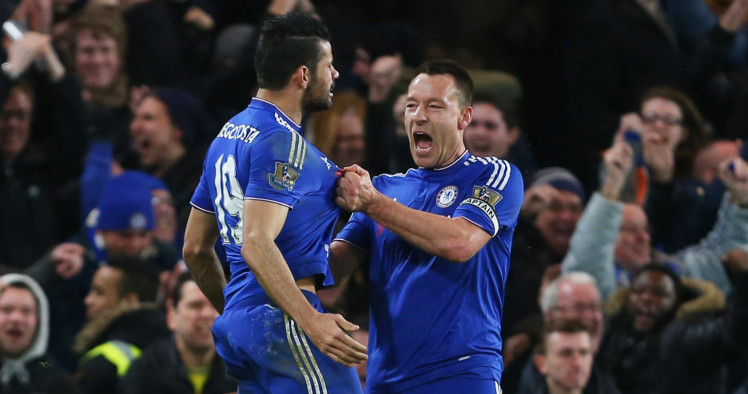 Revealed: Terry starts very weird Chelsea pre-match tradition