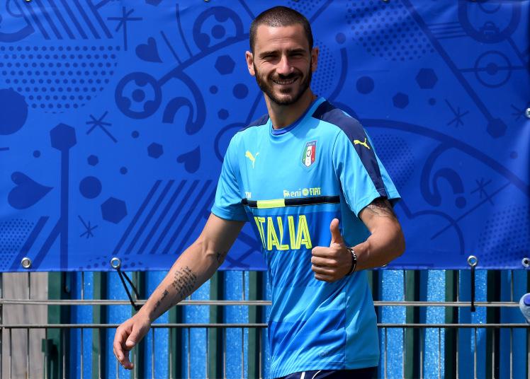 Juventus reject £38m bid from Manchester City for Leonardo Bonucci