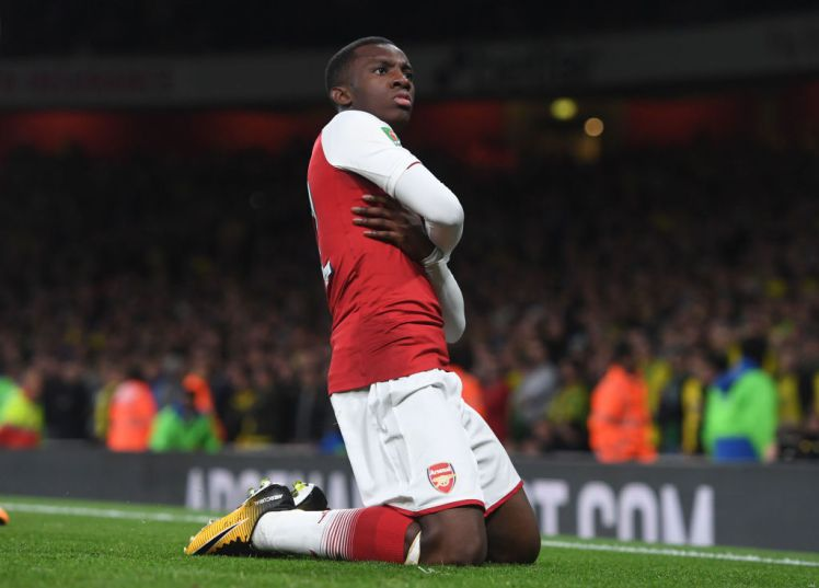 New Arsenal hero Eddie Nketiah opens up about his Chelsea rejection