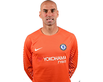 Chelsea FC Goalkeeper Willy Caballero