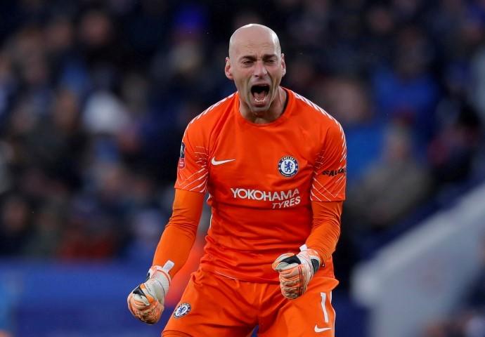 Chelsea FC Goalkeepers 2018