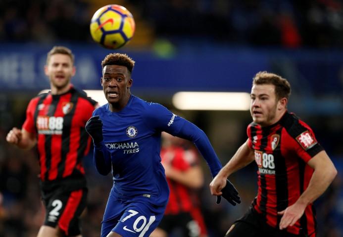 Chelsea FC Under-19s 2017 2018 Callum Hudson-Odoi