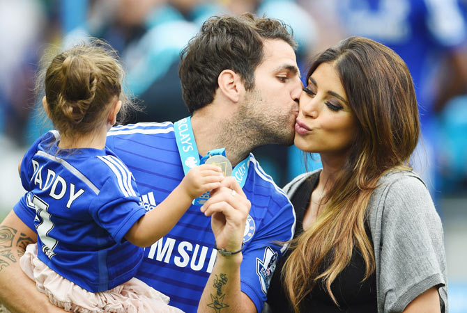 Cesc Faregas wife and family