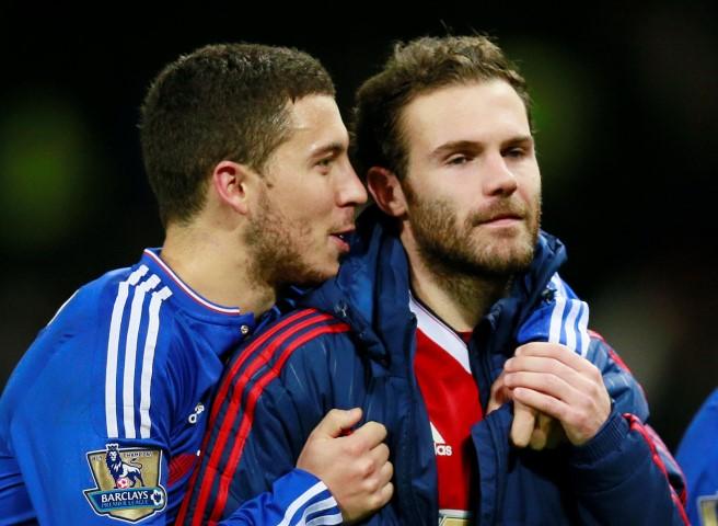 Eden Hazard's dream team!