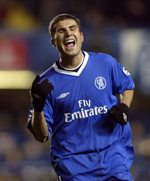 Adrian Mutu is one of the Chelsea players who took drugs