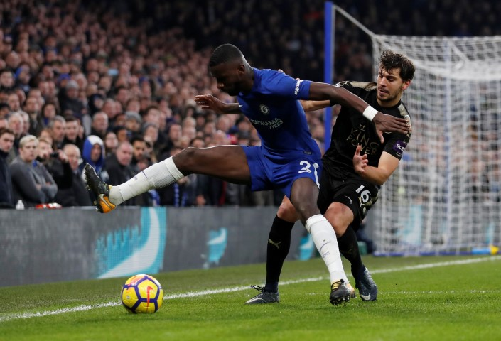 Antonio Rudiger Top five tallest Chelsea players in the 2017 18 squad Antonio Rudiger