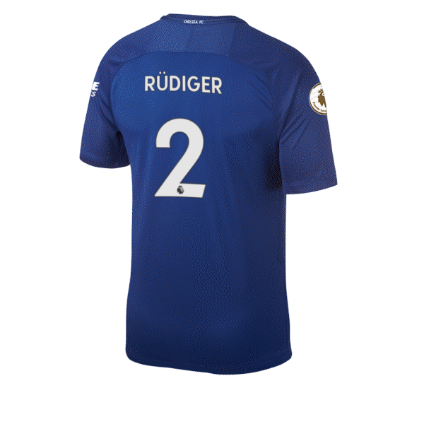 Antonio Rudiger Squad Jersey Shirt Number Chelsea FC