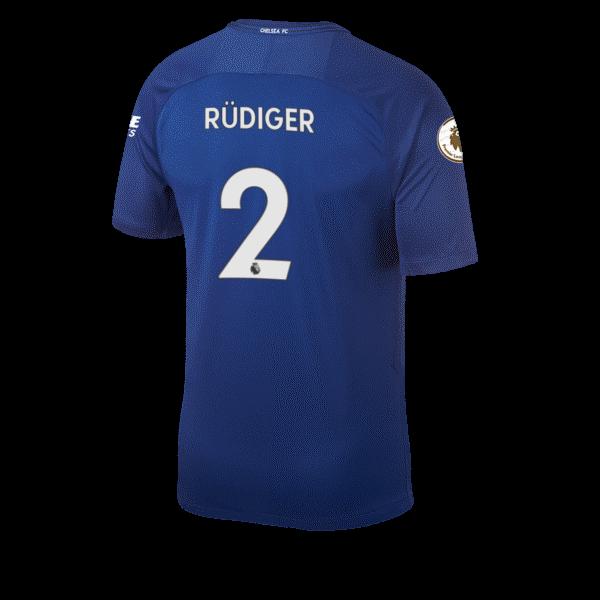Antonio Rudiger Squad Jersey Shirt Number Chelsea FC