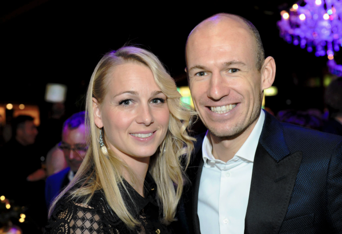 Arjen Robben wife Chelsea players wives and girlfriends Chelsea FC Bayern Munich WAGS