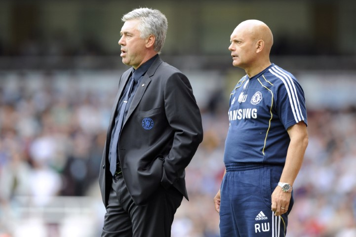 Carlo Ancelotti-Top Five Chelsea managers with the best win percentage ever Ray Wilkins