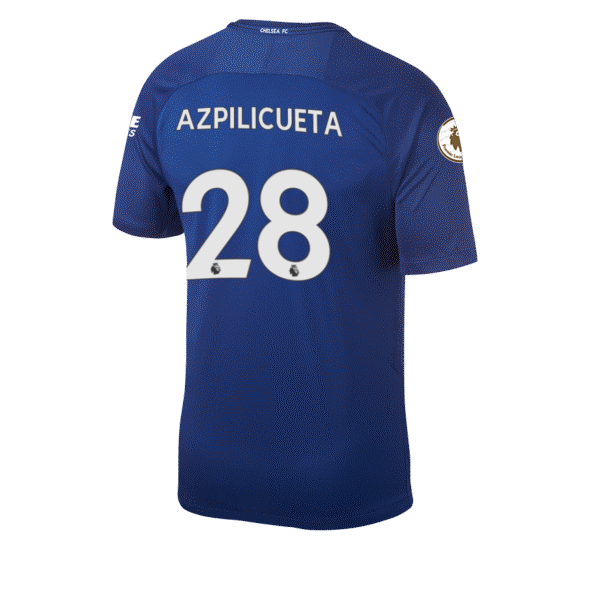 Cesar Azpilicueta Squad Jersey Shirt Number Chelsea FC