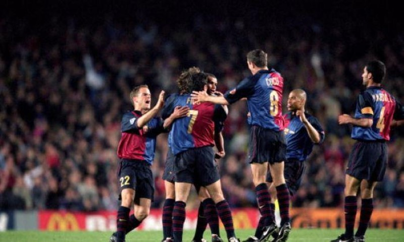 Chelsea FC Biggest loss Champions League Barcelona 2000