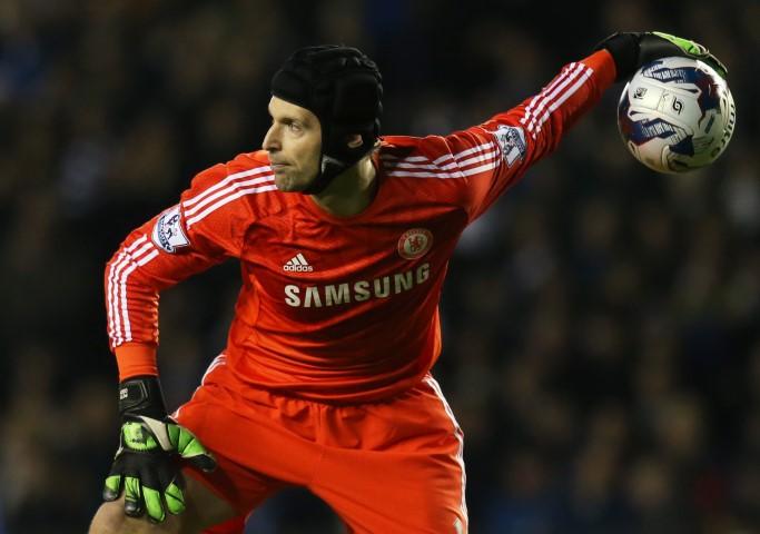 Chelsea FC Goalkeeping records Petr Cech