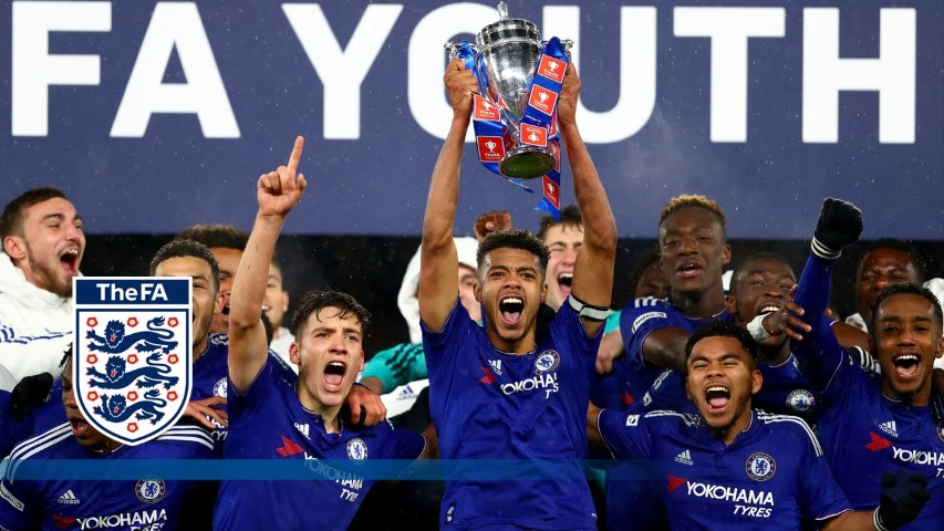 Chelsea FC Team Under-18s 2018 2019 FA Youth Cup