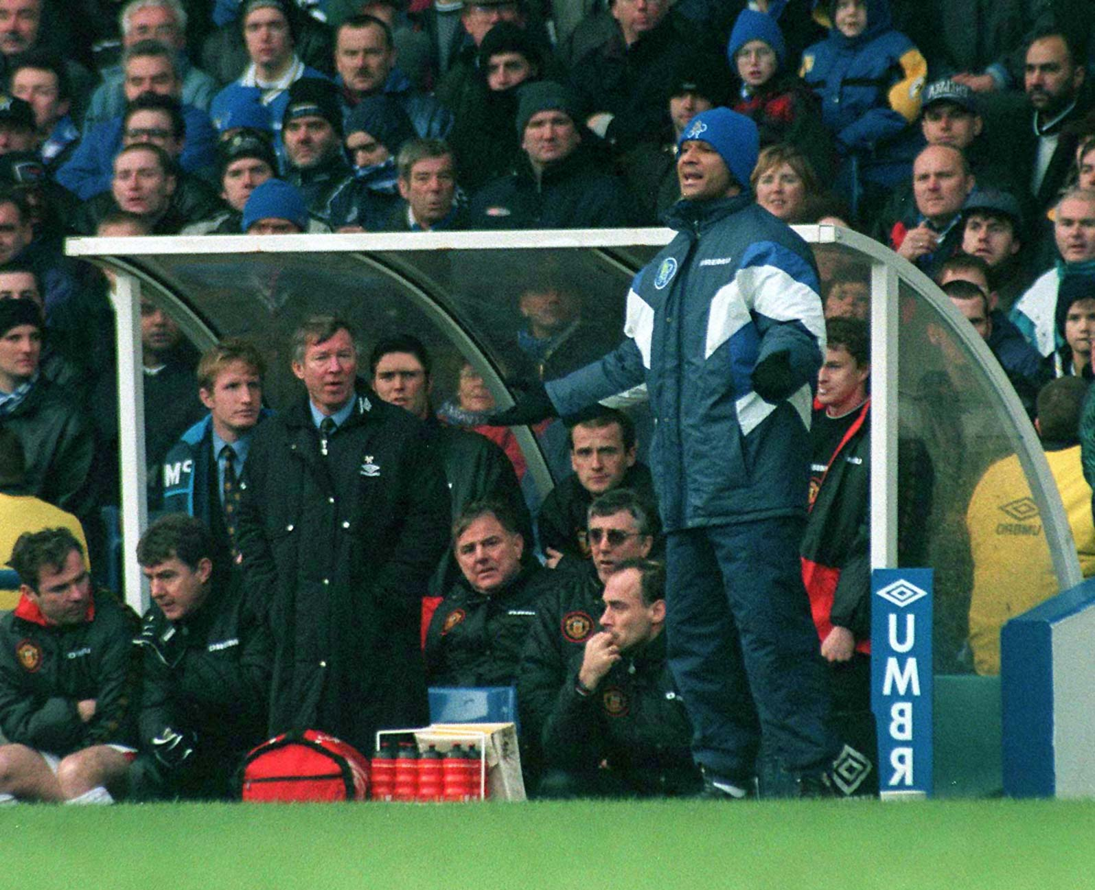 Chelsea FC most attacking managers Ruud Gullit