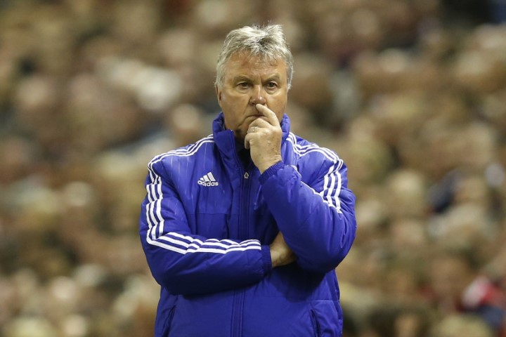 Chelsea FC most attacking managers Guus Hiddink