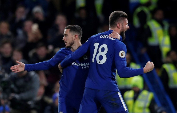 Chelsea FC players and their age Eden Hazard age Olivier Giroud age