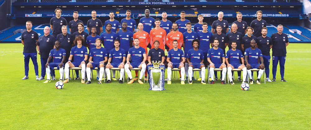 Chelsea FC players pictures 2017/18