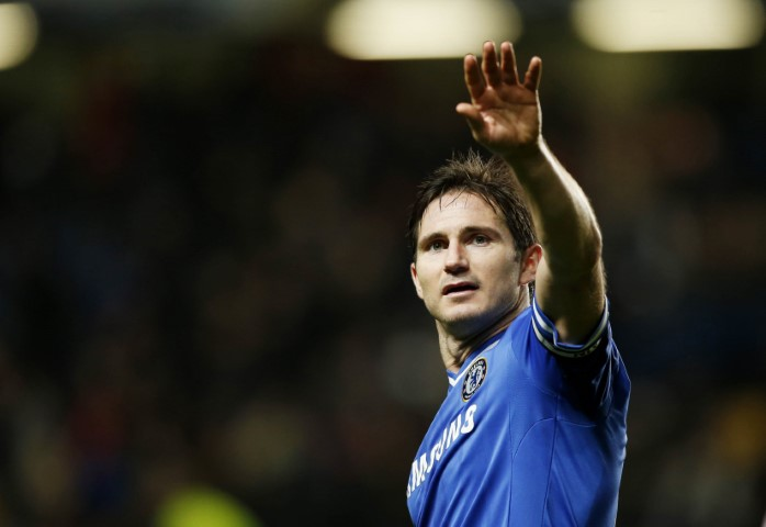 Chelsea FC top scorers of all time Frank Lampard
