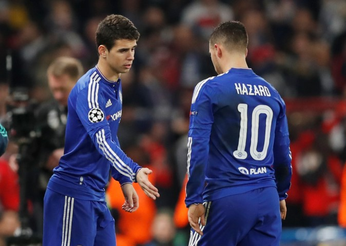 Chelsea most expensive departures Oscar