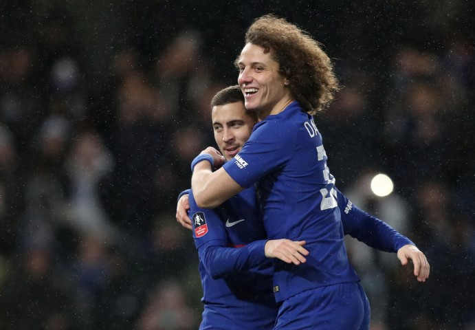 David Luiz Top five tallest Chelsea players in the 2017/18 squad eden hazard