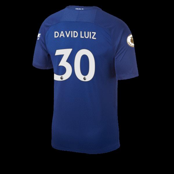 David Luiz Squad Jersey Shirt Number Chelsea FC