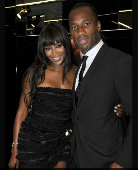 Didier Drogba wife Chelsea players wives and girlfriends WAGS
