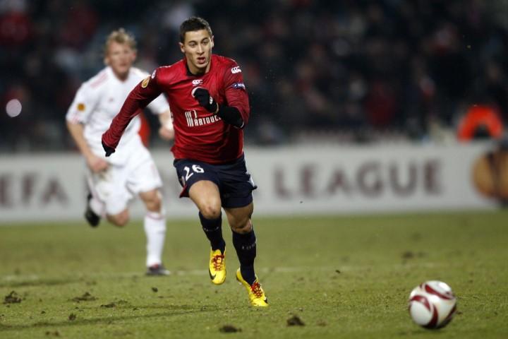 Eden Hazard pics in Lille