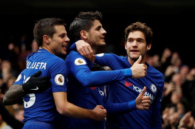 Gerard Pique wants Marcos Alonso at Barcelona