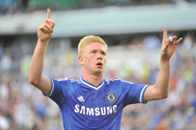 Kevin De Bruyne is one of the players Chelsea should not have sold