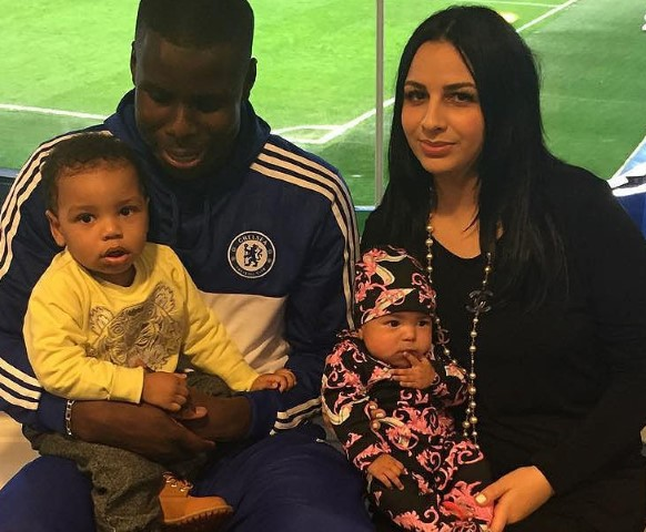 Kurt Zouma WAG Sandra Zouma Chelsea Players Wives and Girlfriends