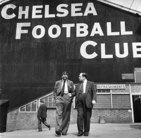 Longest serving Chelsea managers of all-time Ted Drake