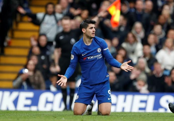 Alvaro Morata is one of the Worst Chelsea players this season 2017 2018