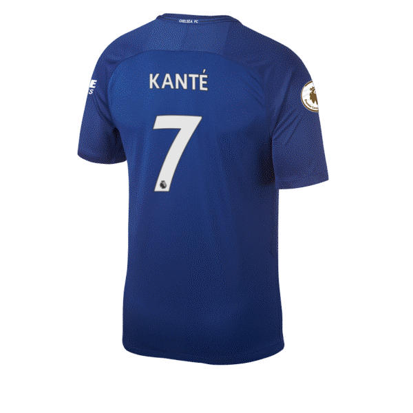 N'Golo Kante Squad Jersey Shirt Number Chelsea FC
