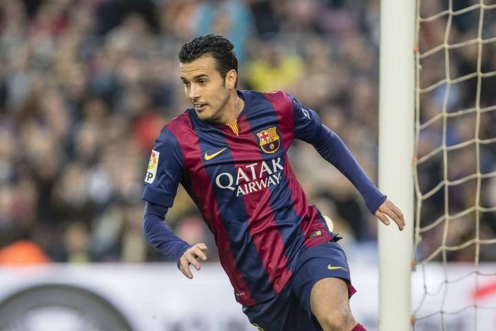 Pedro goals at Barcelona