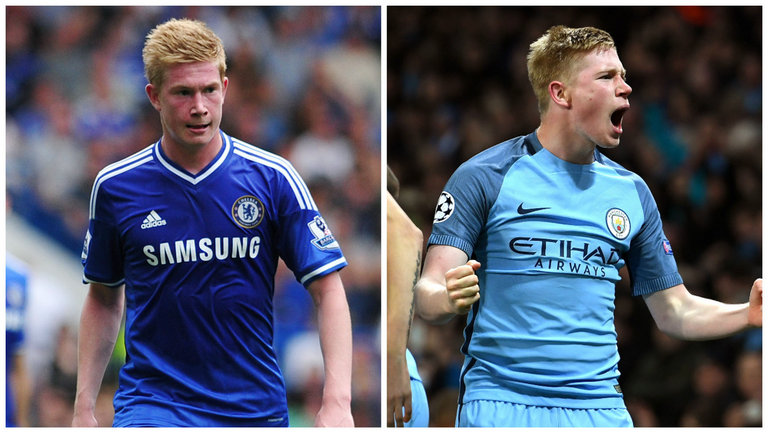 Players Chelsea sold too early - Kevin de Bruyne