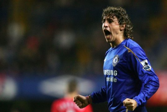 Top 10 Chelsea players that never made it Hernan Crespo