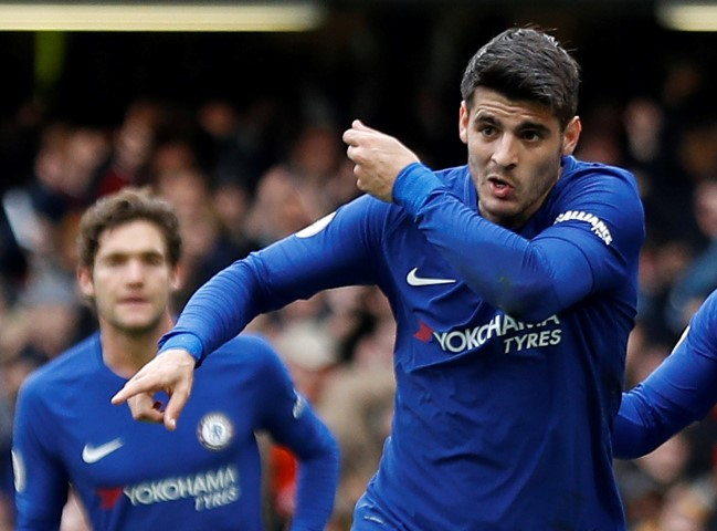 Top five most valued Chelsea players 2018 Alvaro Morata