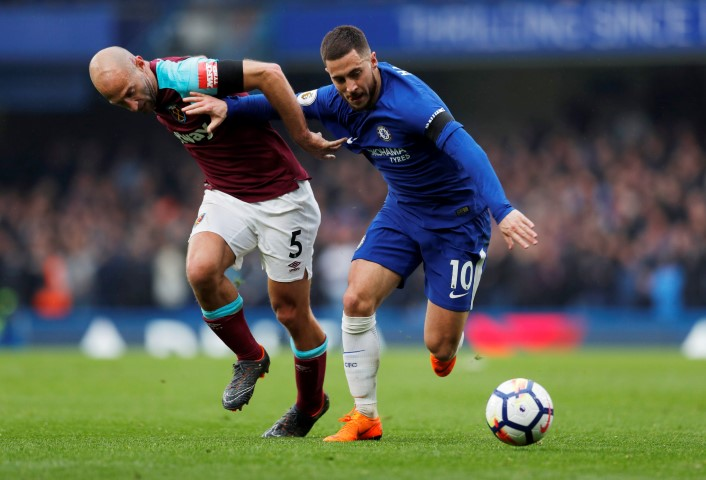 Top five most valued Chelsea players 2018 Eden Hazard