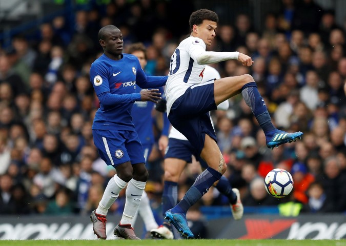 Top five most valued Chelsea players 2018 N'Golo Kante