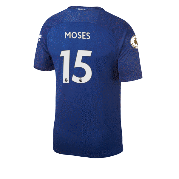 Victor Moses Squad Jersey Shirt Number Chelsea FC