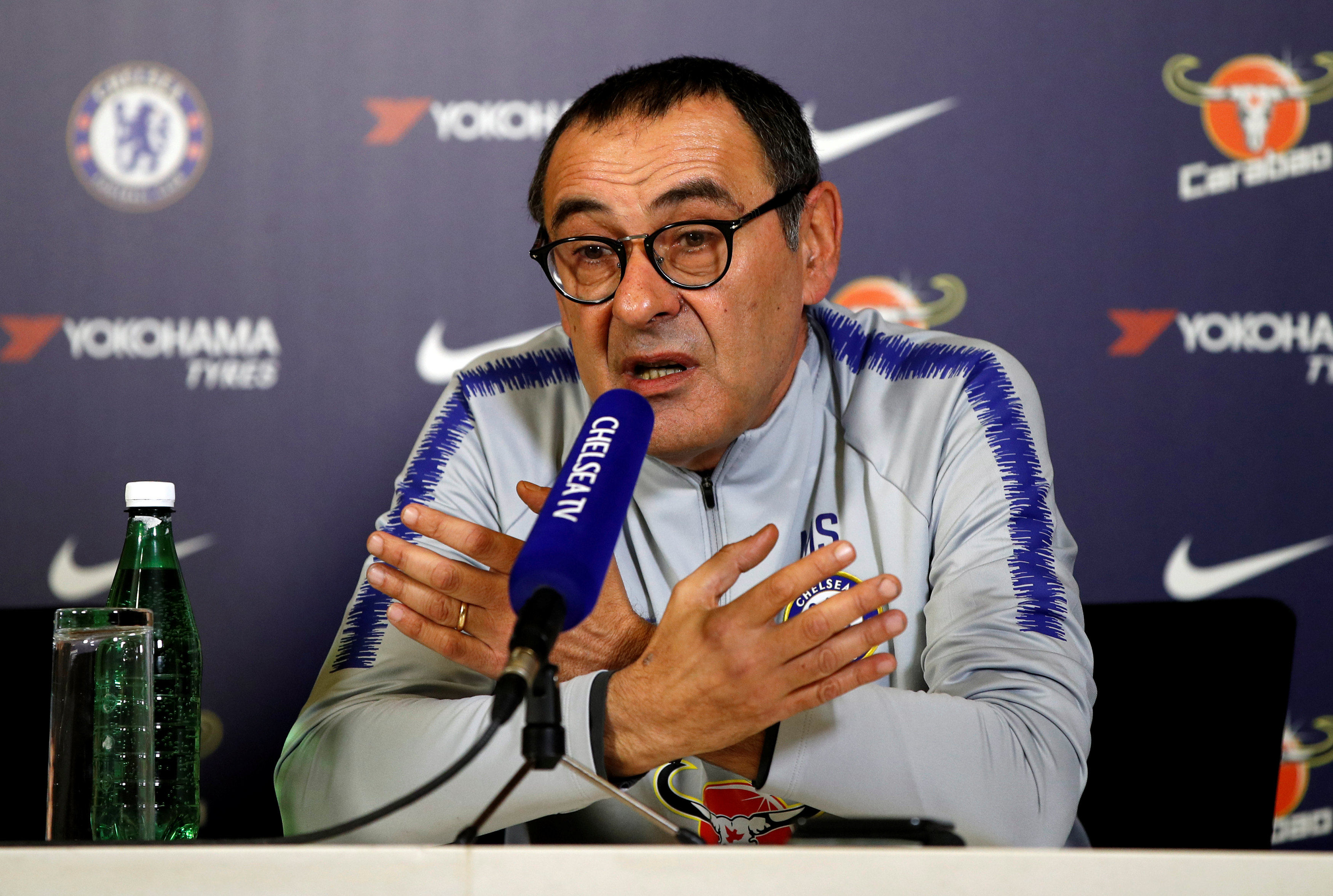 successful chelsea boss maurizio sarri