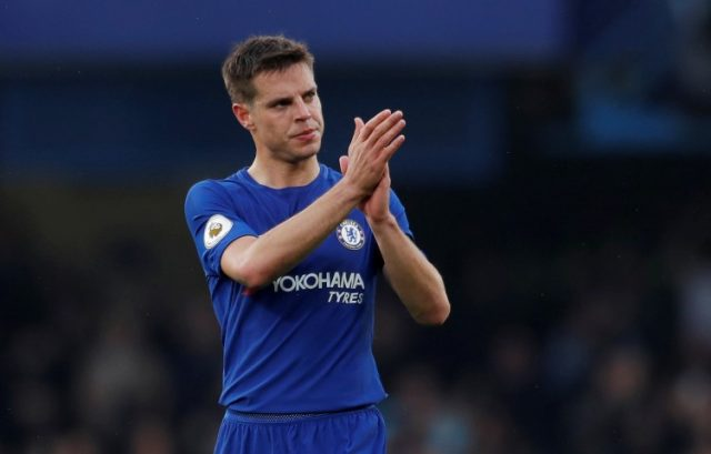 top five most valued Chelsea players 2018 Cesar Azpilicueta