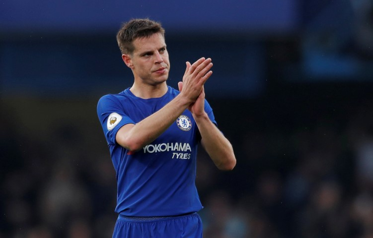 top five most valued Chelsea players 2018 Cesar Azpilicueta