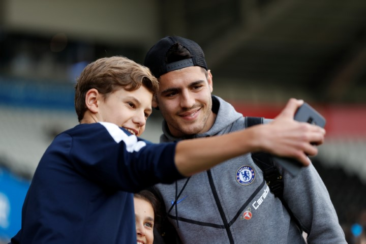 Alvaro Morata Most handsome Chelsea players