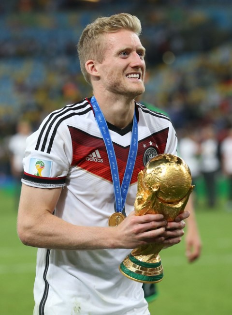 Andre Schurrle is one of the Chelsea players that have won the World Cup