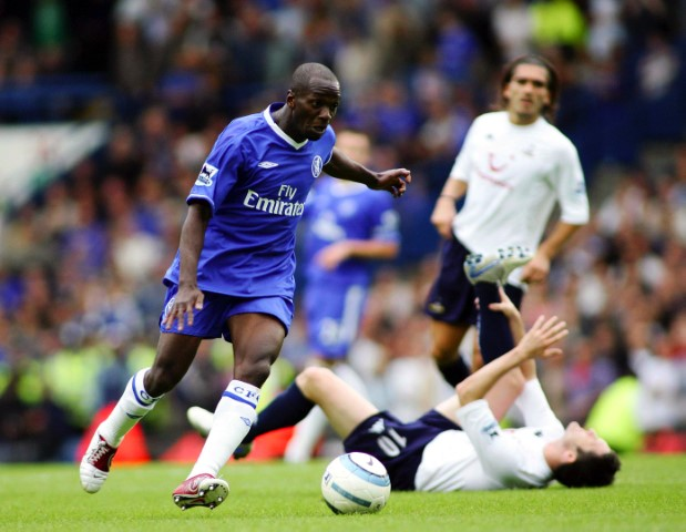 Best Chelsea XI of all time Claude Makalele