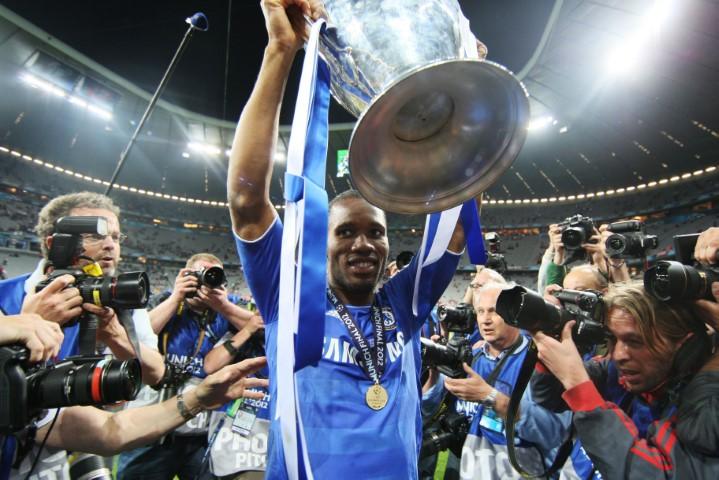 Chelsea FC Champions League Didier Drogba