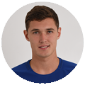 Chelsea FC players photos Andreas Christensen